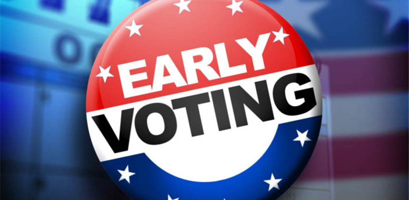 Restricted Early Voting Places for the November 3, 2020, General Election